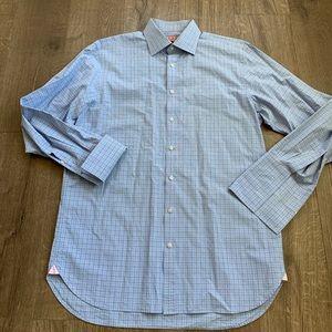 Thomas Pink French Cuff Dress Shirt s 16.5 (L)